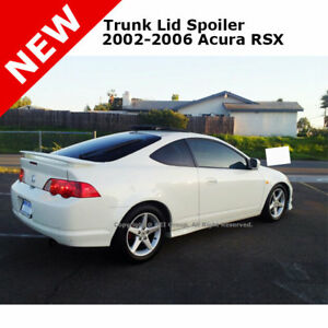 For Acura Rsx Coupe 02 06 Trunk Rear Spoiler Painted Alabaster Silver Met Nh700m
