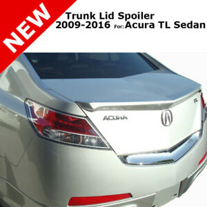 For Acura Tl 4dr 4 Dr 09 16 Trunk Rear Spoiler Painted Polished Metal Met Nh737m