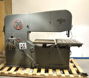 Doall 6013 3 60 3ph Industrial Metal Band Saw Hydraulic tilt Jog Butt welder