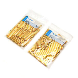 lot Of 200 Ingun Ks 150 30 M3 Gold plated Test Probe Receptacles Ks 15030m3