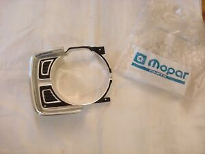 Nos Mopar 1969 Dodge Dart Gt Gts Rh Head Light Bezel Nib