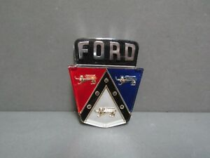 50 51 52 53 54 Ford Trunk Emblem 55 56 Except Fairlane Ford Licensed