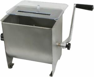 Stainless Steel 4 gallon Meat Mixer
