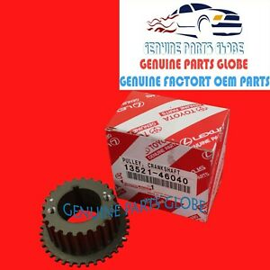 Toyota Lexus Oem Genuine Gs300 Is300 Supra Crankshaft Timing Pulley 13521 46040