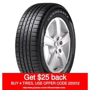 Goodyear Assurance All Season 225 55r16 95h Quantity Of 1