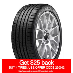 Goodyear Eagle Sport All Season 255 35r20 97v quantity Of 2