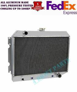 All 3 Rows Aluminum Radiator For Dodge Plymouth Mopar Cars 26in Core Cc374