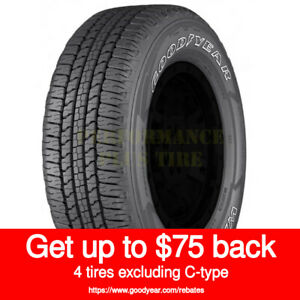 Goodyear Wrangler Fortitude Ht 245 70r17 110t Owl Quantity Of 4