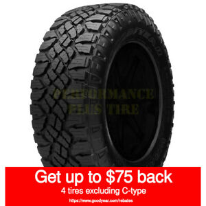 Goodyear Wrangler Duratrac Lt235 85r16 120q 10 Ply quantity Of 4