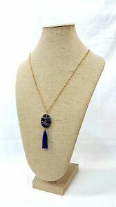 Burlap Necklace Bust Display Jewelry chain Linen Neckform Necklace Holder 22 h