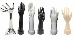 Mannequin Hand Display Jewelry Bracelet Necklace Ring Or Glove Stand Holder