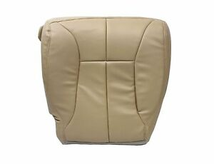 1998 2001 Dodge Ram 1500 Slt Driver Side Bottom Synthetic Leather Seat Cover Tan
