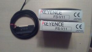Keyence Fs v12 Fiber optic Photoelectric Amplifier new In Factory Box