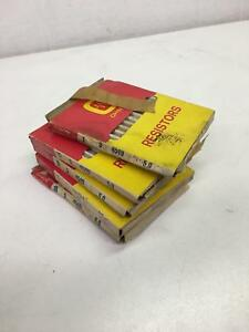Ohmite Resistors 5 0 Ohms 5 Watts 4549 995 5b 5 Boxes Of 10 50 Total Pieces