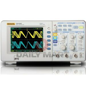Rigol Digital Oscilloscope Ds1052e 50mhz 1gsa s 1mpts New In Box Free Ship