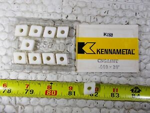 New Kennametal Cnga 433t Grade K060 Ceramic Indexable Insert Box Of 10 Inserts