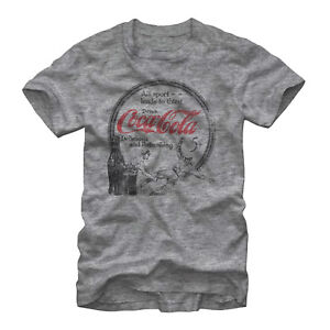 Coca Cola All Sport Leads to Thirst Mens Graphic T Shirt