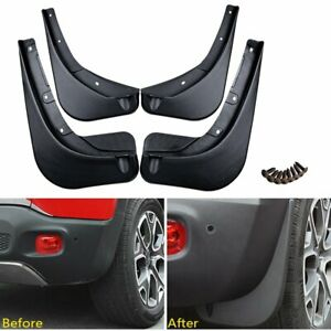F R Mud Flaps For Jeep Renegade 2015 2019 2016 17 18 Deluxe Molded Splash Guards