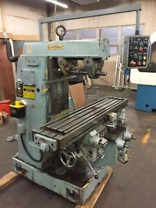 1990 Ycm Supermax Horizontal Milling Machine Ycm 2h 50 Taper Tooling