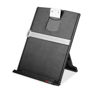 3m Desktop Document Holder With Adjustable Clip Holds Letter Legal And A4