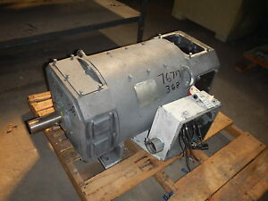 100 Hp Dc Emerson Electric Motor 1750 Rpm 368at Frame Dp 500 V