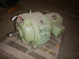 40 HP Eaton Variable Speed Electric Motor ACM 912 220-1710 RPM 90 V Clutch