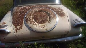 61 Valiant Trunk Lid With Spare Tire Hump Parting Car Street Rod Or Rat Rod