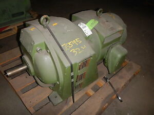 40 Hp Dynamatic Variable Speed Motor 9092 130 1695 Rpm 45 V Dc Clutch