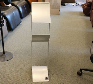 Metal Retail Showroom Literature Brochure Display Holder Stand For Furniture