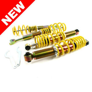 Rsk Street Adjustable Coilover Kit Audi A4 B5 Quattro Yellow