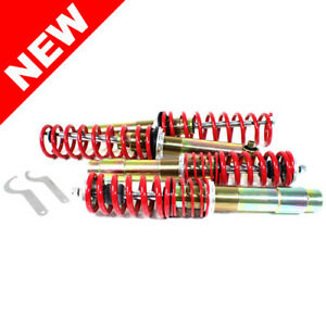 Rsk Street Adjustable Coilover Kit Bmw E39 5 series Sedan Red