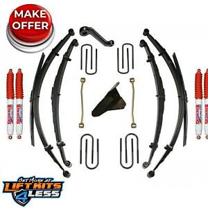 Skyjacker Fe40mks h 4 Lift Kit W hydro Shocks For 2000 2005 Ford Excursion Gas