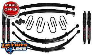 Skyjacker 6 Lift Kit W black Max Shocks For 69 72 Gm Blazer jimmy