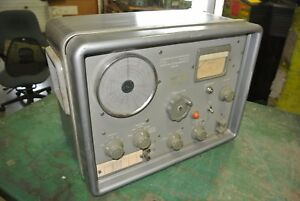 Carrier Deviation Meter Tf79id No Ja162 073 Marconi Instruments whses s8a1