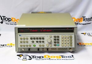 Hp Agilent Keysight 8340a Synthesized Sweep Signal Generator 10mhz To 26 5ghz