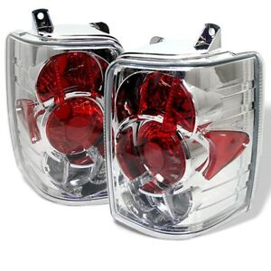 1993 1998 Jeep Grand Cherokee Chrome Tail Lights