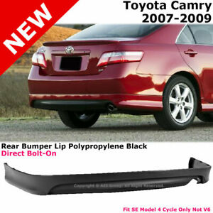 For Toyota Camry 07 09 Rear Bumper Lower Lip Spoiler Valance Se Style Conversion