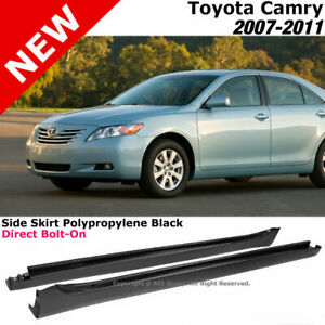 For Toyota Camry 07 11 Sedan Replacement Side Skirts Rocker Panels Bolt On