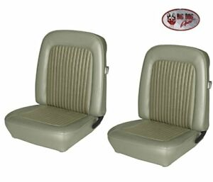 1968 Mustang Front Rear Seat Upholstery Ivy Gold Made By Tmi In Stock