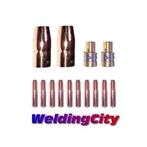 Mig Welding Gun Kit 030 For Miller M 100 150 Contact Tip nozzle diffuser M32