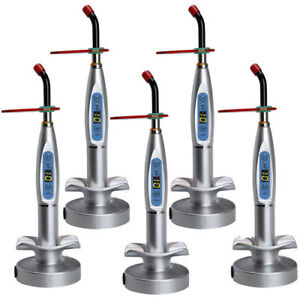 New Dental 10w Wireless Cordless Led Curing Light Lamp 2000mw Tool Fast Ship Us