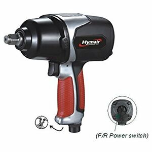 Hymair 1 2 Heavy Duty Air Impact Wrench Twin Hammer Nst 5040