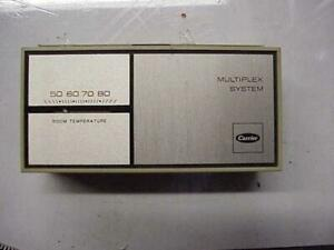 Carrier 99tz900581 2 heat 1 cool Thermostat With Subbase 58539