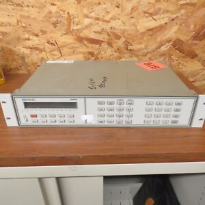 Used As Is Hp 3488a Switch Control Unit For Parts Or Repair