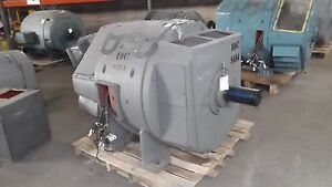 300 Hp Dc General Electric Motor 1150 Rpm 5423 Frame Dpfv 500 V Arm