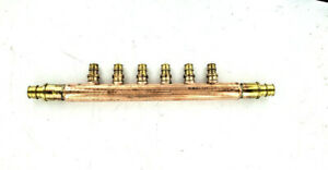 Wirsbo Propex 1 Copper Flow through Manifold 6 Outlets Q2817557