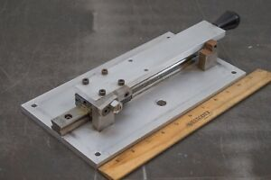 Skf Sr20t Guide Rail Ball Bearing Linear Slide Positioner