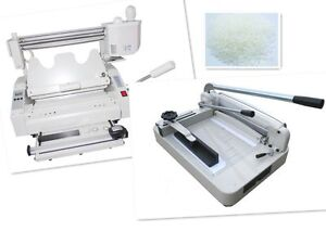 A4 Stack Paper Book Cutter Guillotine wireless Glue Binding Machine Hard Cover