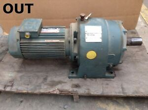Reliance Electric 184dg28a1 Gear Drive speed Reducer 5hp 1725rpm 3ph 17 1 1