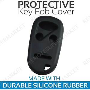 Remote Key Cover Case For 1996 1997 1998 1999 2000 2001 2002 Honda Accord Black